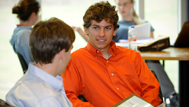 Clemson family atmosphere shapes student for global competition.