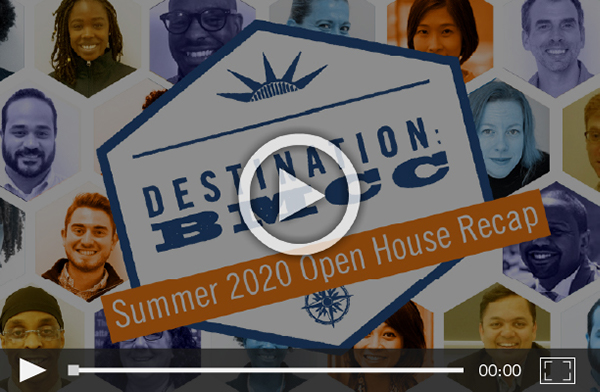 Click to play Summer 2020 open house video